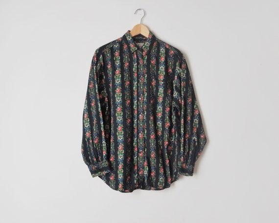 1980s Kenzo Shirt • Black Stripes Kenzo Shirt • Fl