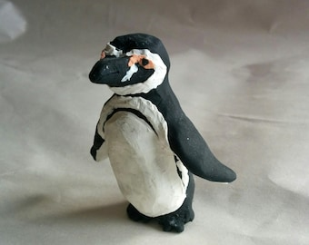 Handmade Clay Penguin