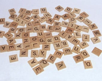 Individual Scrabble Letter Tiles Authentic Letters A To Z Genuine