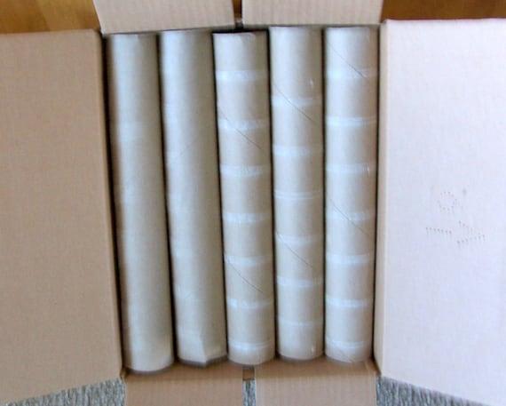 20 Empty Paper Towel Rolls Craft Making Supplies Paper Tubes