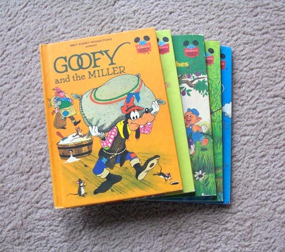 Disney S Wonderful World Of Reading Books 1970 S And Etsy