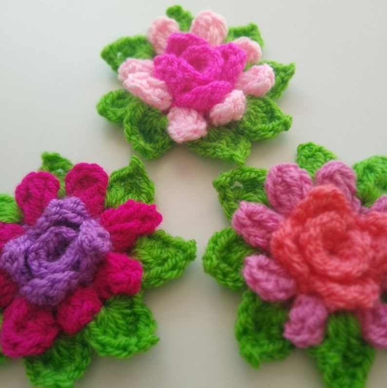 Blossom in-the-round  CrochetPattern  Apple Blossom Dreams image 0