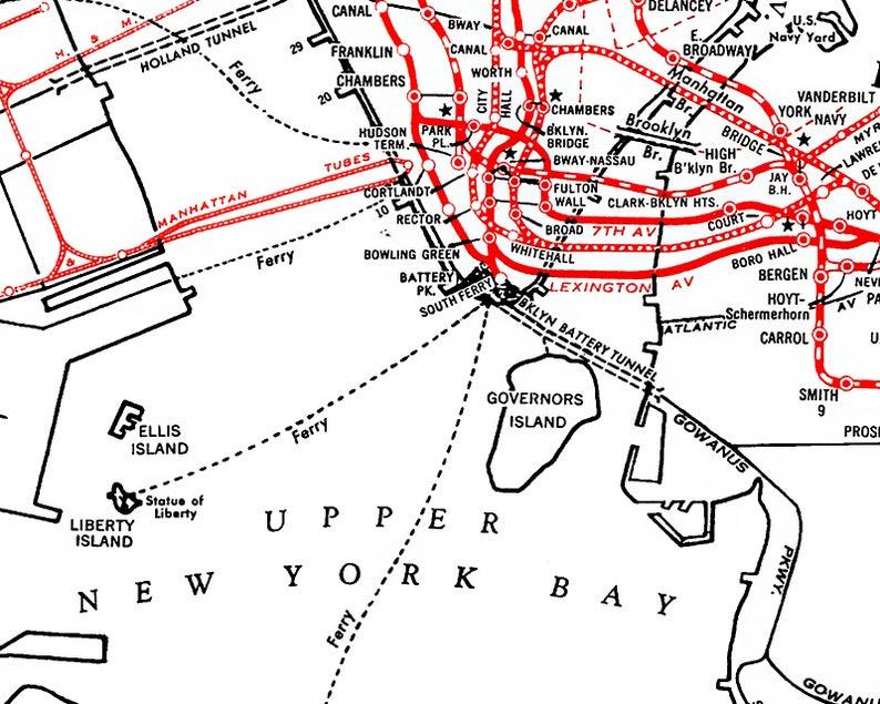 U Bahn Karte New York.Druckbaren Download U Bahn Karte Von New York City Nyc Subway Map