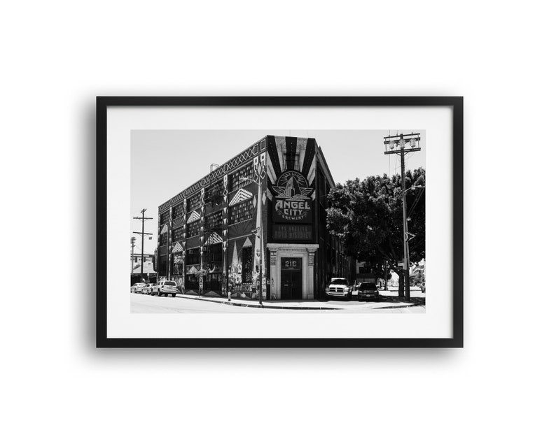 South Alameda Street /& Traction Avenue Los Angeles Photography