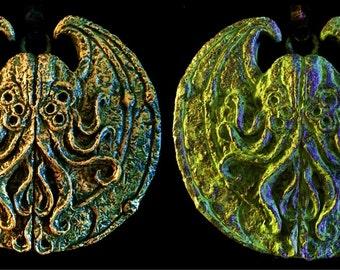 Cthulhu Cultist Medallions