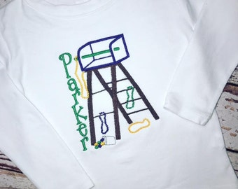 Mardi Gras Parade Ladder Shirt