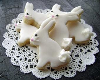 Baby Easter Bunny Sugar Cookies - Mini Bites - Woodland Cookies