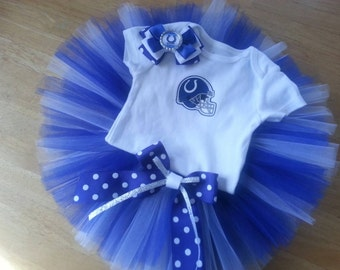 Indianapolis Colts inspired tutu outfit