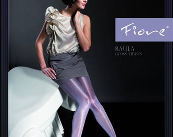 FIORE RAULA 40 denier pantyhose, tights, high gloss.