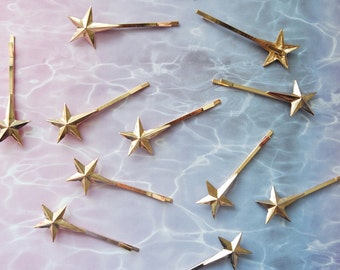 Shooting Star Bobby Pin Pair