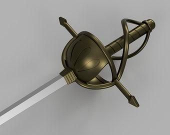 Katalina's Sword[3D Print Files]