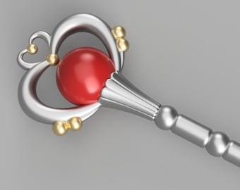 Sailor Pluto's Garnet Rod [3D Print Files]