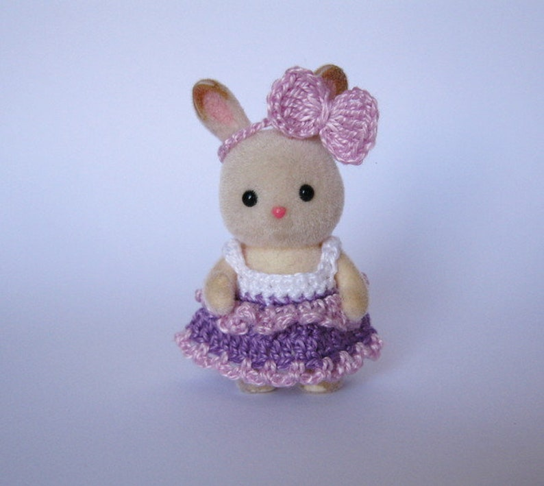 Sylvanian Families Crochet CLOTHES for BABY 1.8 /'/' Calico Critters