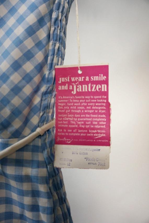 1960's Deadstock Jantzen Swimsuit one piece - image 5
