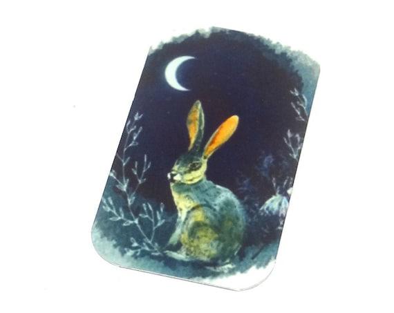 Metal Hare Pendant Handmade