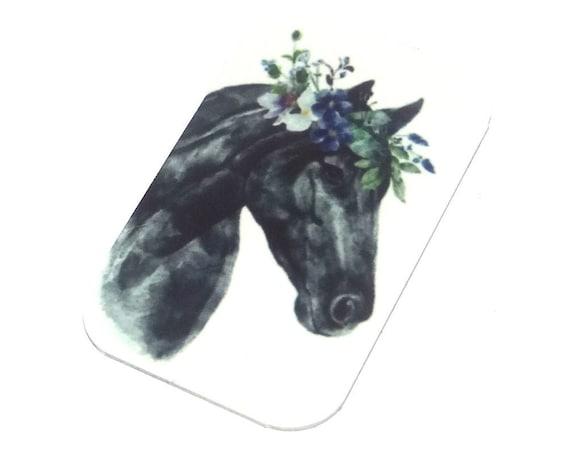 Metal Horse Pendant Handmade