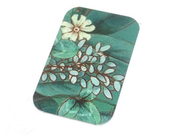 Metal Flower Pendant Charm Handmade