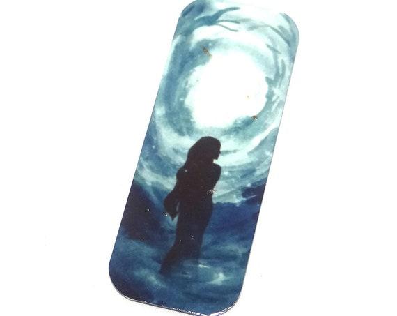 "Metal Woman Female Goddess Pendant Handmade 40mm 1.6"" MLP6-1"