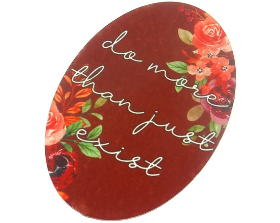 """Large Metal Quote Pendant Handmade Floral 50mm 2"""" MLP7-2"""
