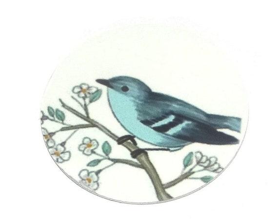 Metal Bird Charm Pendant Handmade