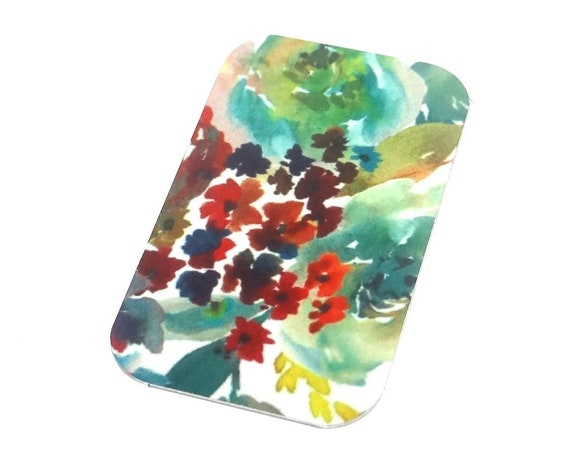"Small Metal Floral Flower Pendant Handmade 32mm 1.25"" MSR5-4"