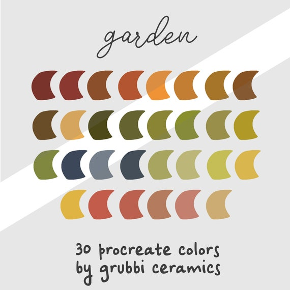 Procreate Color Palette Colour Swatches Swatch iPad