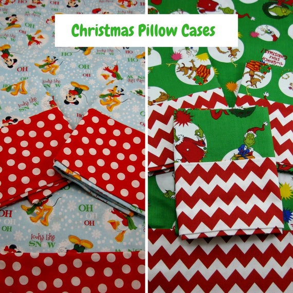 GRINCH Pillowcase ENVELOPE STyLE