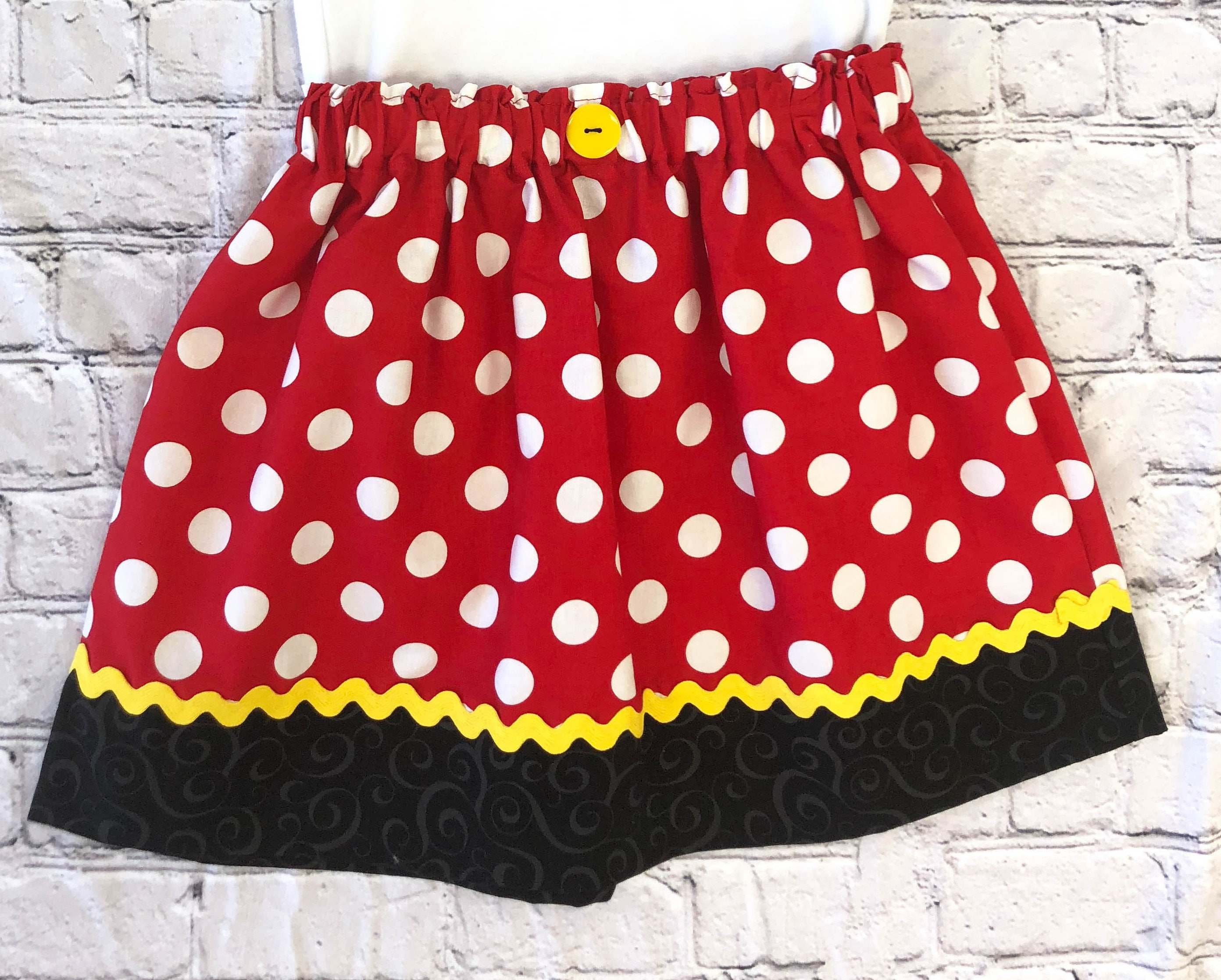 446400ffcd3 Minnie Mouse Skirt Girls Costume Dress Up Trunk Vacation