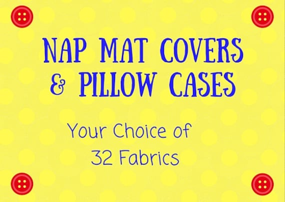 Nap Mat Cover Sets Covers With Matching Pillow Case
