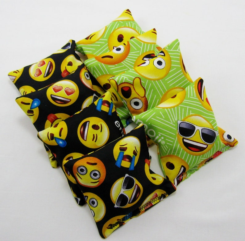 Emoji Bean Bags Party Game Birthday