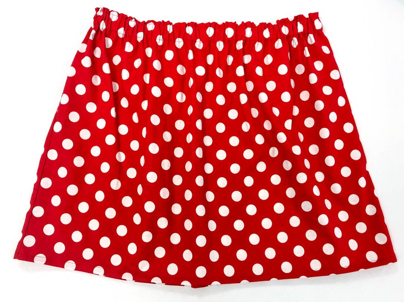 Minnie Mouse Ladies Women\'s Adult Plus Size Skirt - Size 18/waist 38\