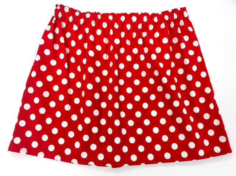 Minnie Mouse Ladies Women\'s Adult Plus Size Skirt - Size 18/waist 38\