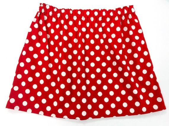 43553dd783cca Minnie Mouse Ladies Women s Adult Skirt Plus Size 18 Waist
