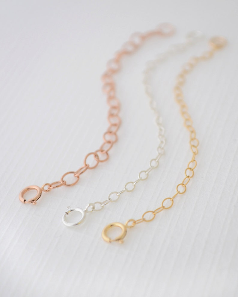 Extender Chains Chain Extension 14k Gold Filled Chain 14k image 0