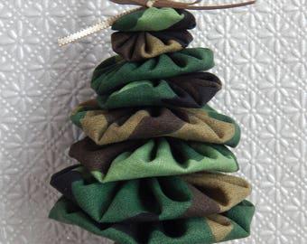 Camouflage Yo Yo Ornament