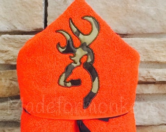 Hunting Hooded Towels
