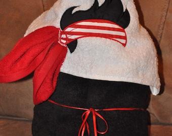 Pirate Hooded Towel