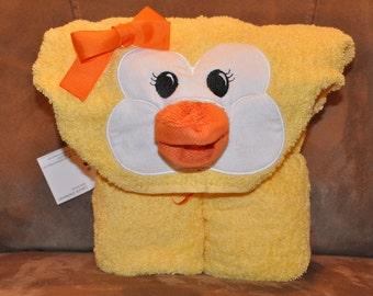 Duck Hooded Towel
