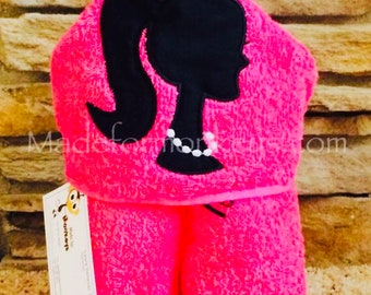 Fashion Doll Hooded Towel