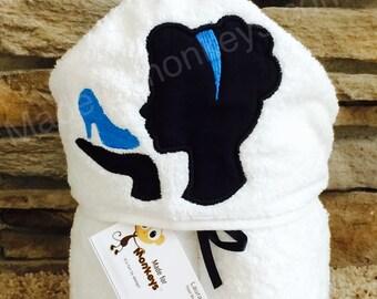 Princess Kids Hooded Towels