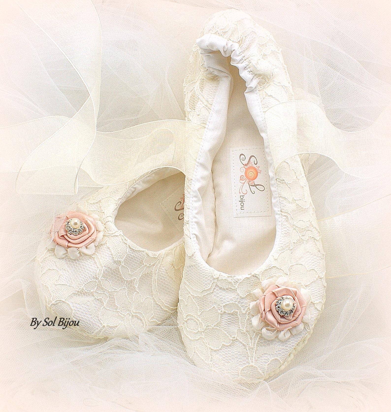 girl ballet flats, blush, ivory, flower girl flats, ballet shoes, girl ballet slippers, girl birthday flats, girl ballet slipper