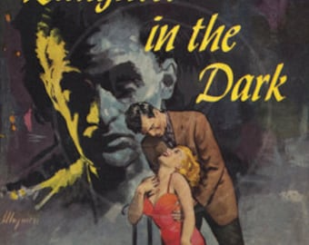 Laughter in the Dark  - 10x15 Giclée Canvas Print of Vintage Pulp Paperback