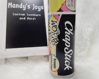 Chapstick Tumbler - Halloween Tumbler - Christmas Tumbler - Sally - Jack - Zero - Potion Tumbler - Nightmare - Epoxy Free Tumbler