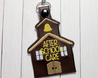 Backpack Tag - After School Care - Back to School - After School Care Tag - Bus Rider -