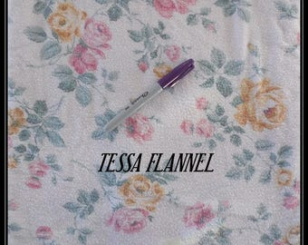 TESSA FLANNEL-Request a CustomOrder-Nightgown,LongSleeve-Sleeveless,Pajamas,Cotton Vintage Percale, Pin Tucked, Waltz Length, Made in USA