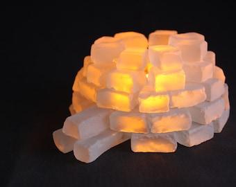 igloo candle holder chandelier igloo