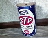 STP Metal Savings Bank Division of Studebaker Vintage Advertising Tin