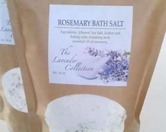 Rosemary Bath Salts, Purifying Bath Salts, Relaxing Bath Salts, Aromatherapy Bath Salts, Scented Bath Salts, Herbal Bath Salts, Bath Salts