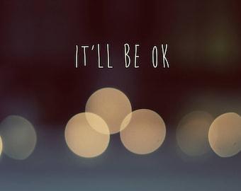 It'll Be Okay, Digital Download, low resolution