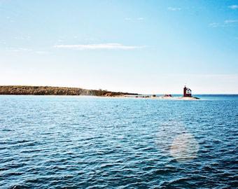 Michigan lighthouse photo, Michigan print, Michigan canvas, Mackinaw Island photo, Mackinac Island photo, Summer Vacation, oversized print